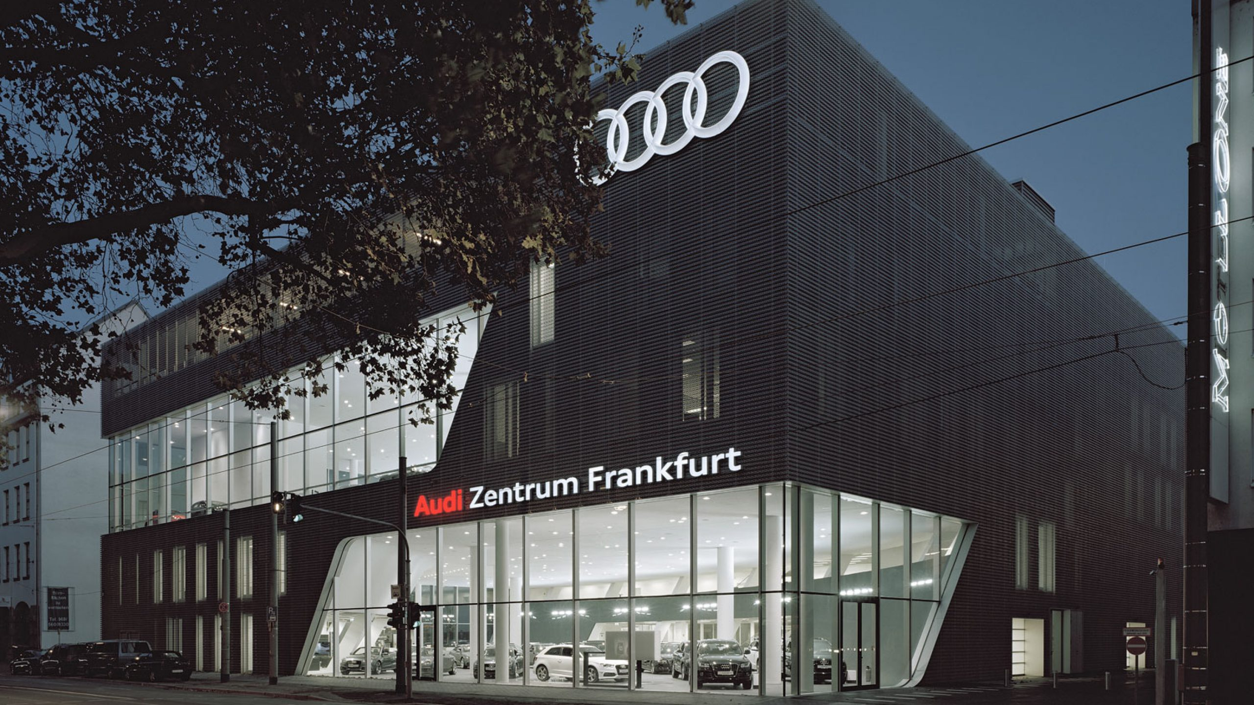 audi zentrum frankfurt prof feix ingenieure gmbh. Black Bedroom Furniture Sets. Home Design Ideas